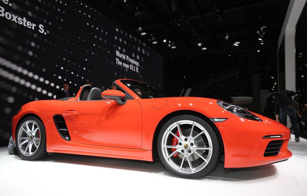 GENEVA 2016 LIVE: Porsche a mizat pe puritate sportivă: 911 R și noul 718 Boxster - Poza 20