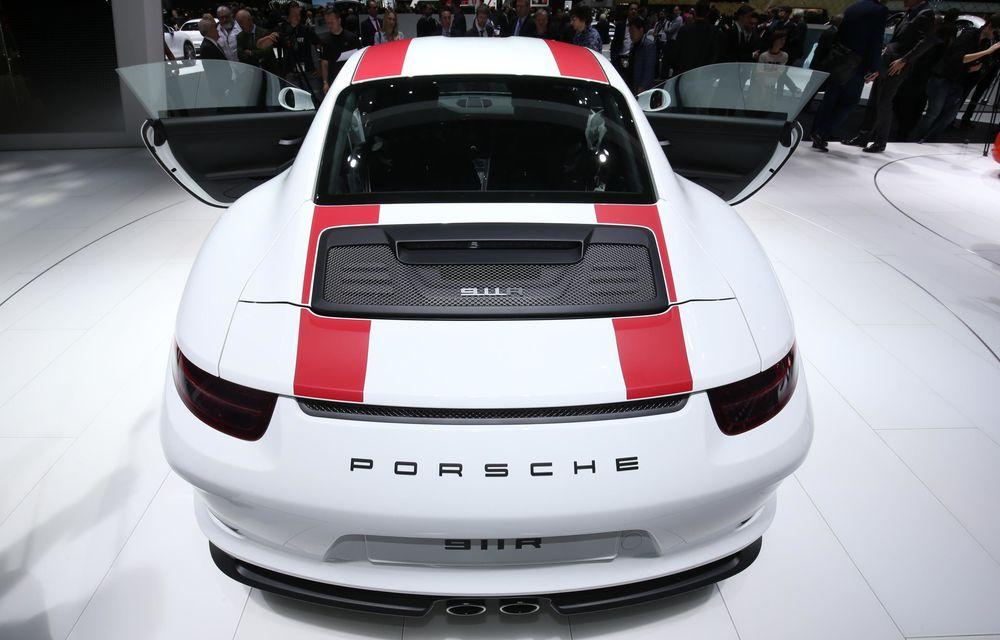 GENEVA 2016 LIVE: Porsche a mizat pe puritate sportivă: 911 R și noul 718 Boxster - Poza 10