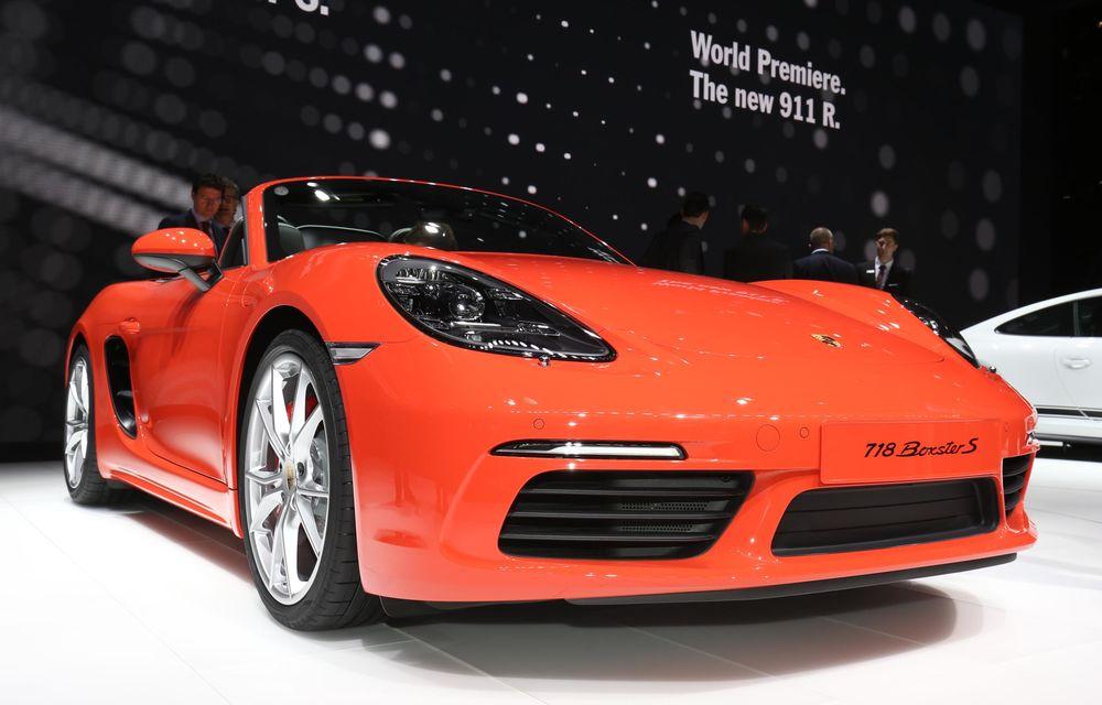 GENEVA 2016 LIVE: Porsche a mizat pe puritate sportivă: 911 R și noul 718 Boxster - Poza 21