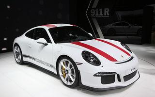 GENEVA 2016 LIVE: Porsche a mizat pe puritate sportivă: 911 R și noul 718 Boxster