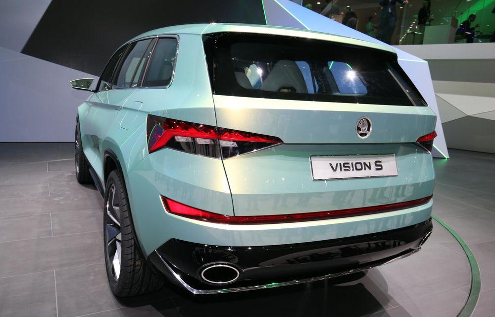 GENEVA 2016 LIVE: Skoda VisionS ne oferă o mostră din viitorul SUV compact al mărcii - Poza 10