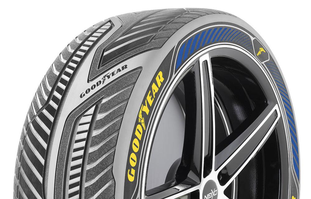 Goodyear a reinventat roata la Salonul de la Geneva: Eagle-360 este un pneu sferic care nu are nevoie de suspensii - Poza 2