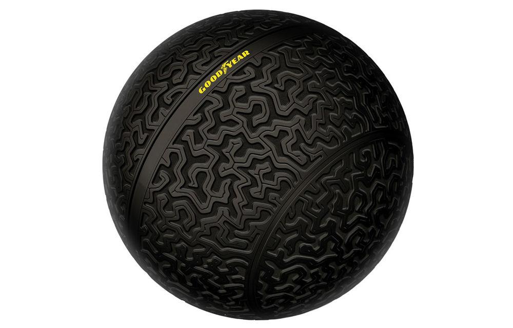 Goodyear a reinventat roata la Salonul de la Geneva: Eagle-360 este un pneu sferic care nu are nevoie de suspensii - Poza 1