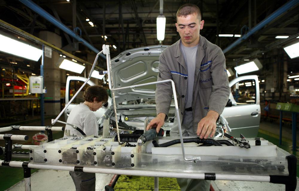 Mai slabi ca Indonezia sau Iran: producţia de maşini a României a scăzut la 387.000 de unităţi în 2015. Suntem pe locul 27 în lume - Poza 1