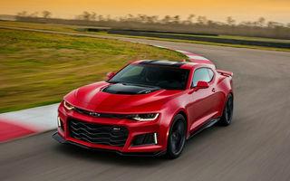 Fibră, nu doar masă musculară: Chevrolet Camaro ZL1 este versiunea supersport a muscle car-ului american