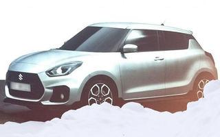 Primele imagini ale noii generații Suzuki Swift aprind competiția în segmentul mic