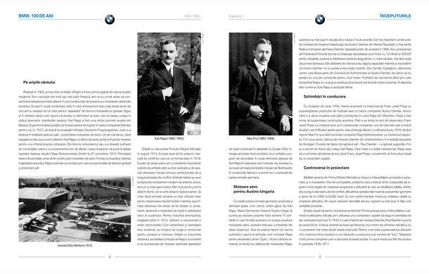 """Carte românească de colecție: """"BMW. 100 de ani"""" celebrează centenarul mărcii bavareze - Poza 2"""