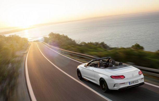 La foc automat: Mercedes C63 AMG Cabrio este al șaselea model AMG în doar o lună - Poza 7