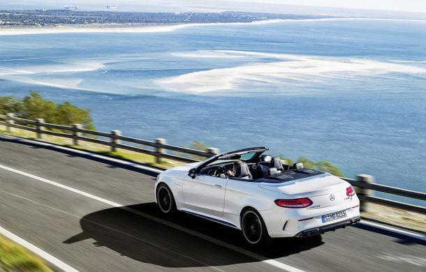 La foc automat: Mercedes C63 AMG Cabrio este al șaselea model AMG în doar o lună - Poza 6