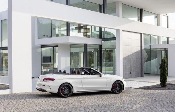 La foc automat: Mercedes C63 AMG Cabrio este al șaselea model AMG în doar o lună - Poza 5