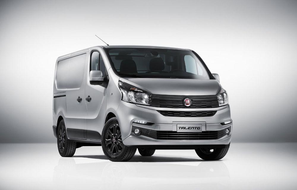 Fiat își arată talentul la utilitare: noul Talento este clona lui Renault Traffic - Poza 1