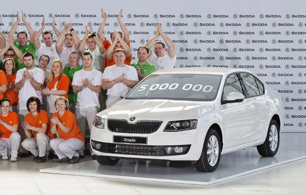 Aniversări cu fast pentru Skoda Octavia: 5 milioane de unităţi vândute în istorie, 1 milion pentru a treia generaţie - Poza 1