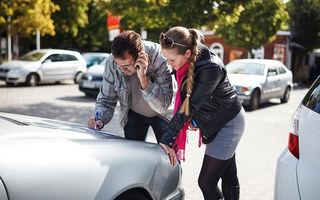 Şoferii fără RCA au produs 1.600 de accidente în 2015, aproape dublu decât în urmă cu 5 ani