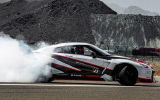 """Drift la 305 km/h. Nissan GT-R a intrat în Cartea Recordurilor după ce a realizat """"Cel mai rapid drift din istorie"""""""
