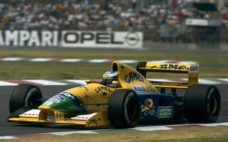 Bucăţică de istorie: monopostul Benetton cu care Schumacher a obţinut primul podium din carieră, scos la licitaţie