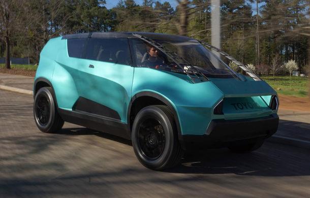 Maşina ideală pentru noua generaţie: Toyota uBox Concept poate fi folosită ca birou mobil prin eliminarea scaunelor spate - Poza 1