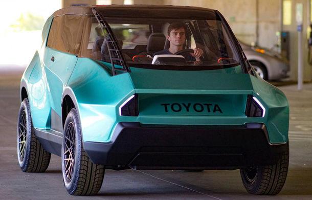 Maşina ideală pentru noua generaţie: Toyota uBox Concept poate fi folosită ca birou mobil prin eliminarea scaunelor spate - Poza 2