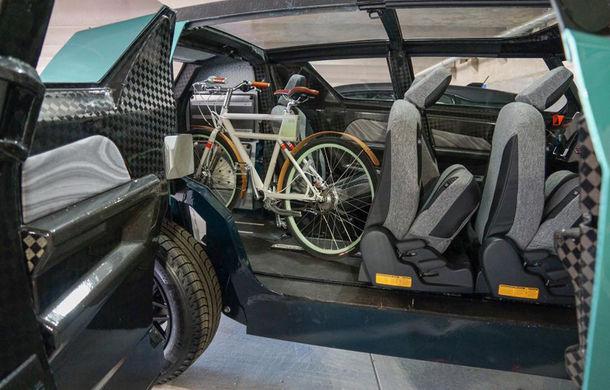 Maşina ideală pentru noua generaţie: Toyota uBox Concept poate fi folosită ca birou mobil prin eliminarea scaunelor spate - Poza 7