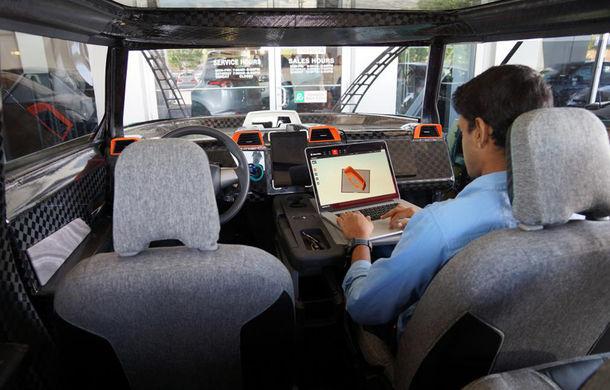 Maşina ideală pentru noua generaţie: Toyota uBox Concept poate fi folosită ca birou mobil prin eliminarea scaunelor spate - Poza 3