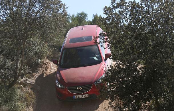 Supraviețuitorii. Am chinuit la sânge Mazda6, CX-3 și CX-5 în off-road. Și avem vești bune - Poza 23