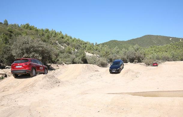 Supraviețuitorii. Am chinuit la sânge Mazda6, CX-3 și CX-5 în off-road. Și avem vești bune - Poza 17