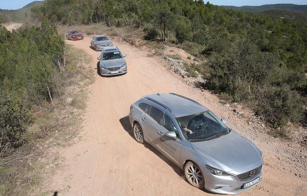 Supraviețuitorii. Am chinuit la sânge Mazda6, CX-3 și CX-5 în off-road. Și avem vești bune - Poza 5