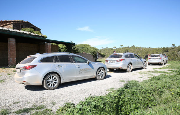 Supraviețuitorii. Am chinuit la sânge Mazda6, CX-3 și CX-5 în off-road. Și avem vești bune - Poza 3