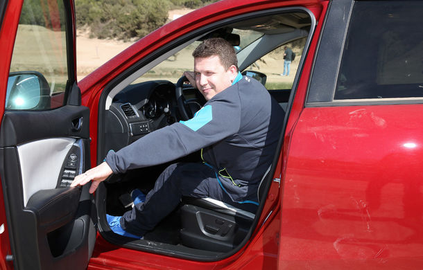 Supraviețuitorii. Am chinuit la sânge Mazda6, CX-3 și CX-5 în off-road. Și avem vești bune - Poza 19