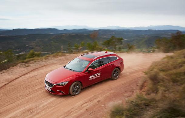 Supraviețuitorii. Am chinuit la sânge Mazda6, CX-3 și CX-5 în off-road. Și avem vești bune - Poza 55