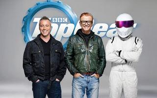Apar primele fisuri în noua și fragila echipă Top Gear? Chris Evans și Matt LeBlanc par să nu fie cei mai buni prieteni