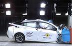 Primul test de siguranţă EuroNCAP pentru sistemul de frânare de urgenţă la detectarea pietonilor: Toyota Prius a primit 5 stele
