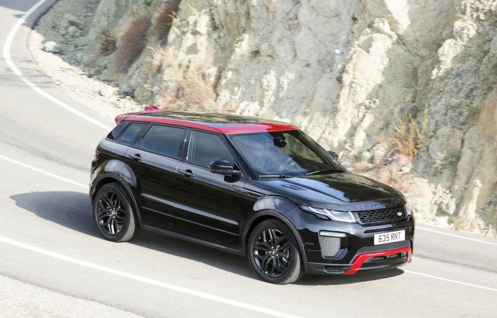 Range Rover Evoque primeşte un display de 10 inch şi o ediţie limitată cu plafon roşu - Poza 7