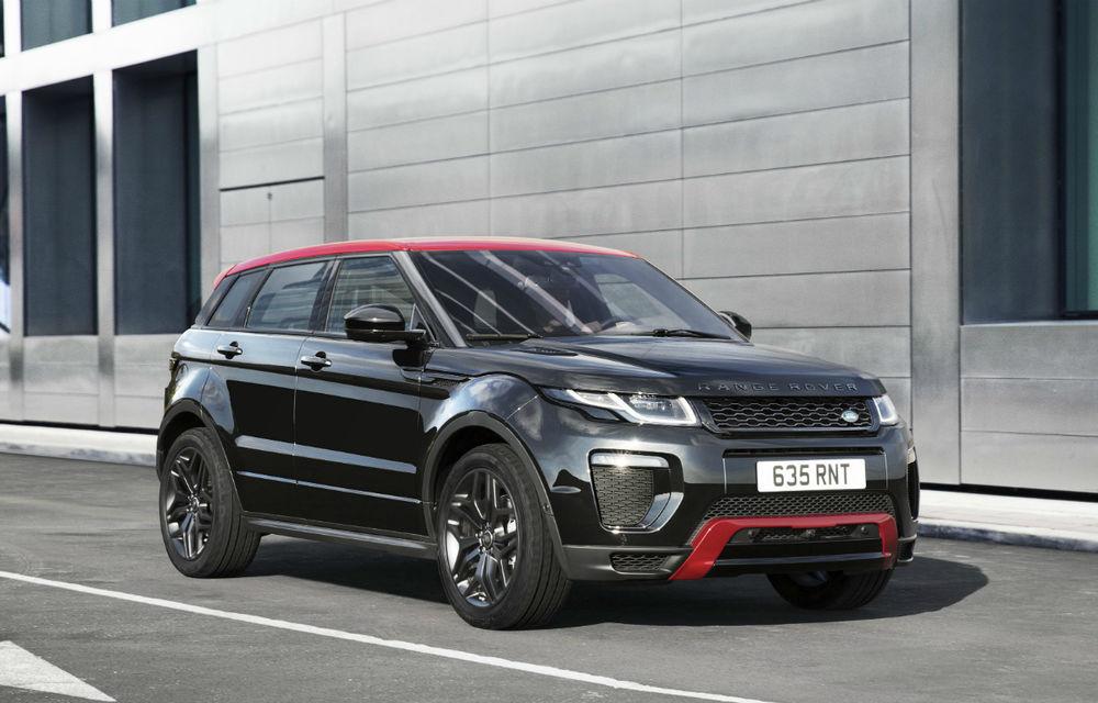 Range Rover Evoque primeşte un display de 10 inch şi o ediţie limitată cu plafon roşu - Poza 10
