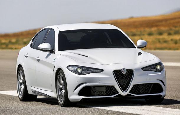 Am trăit să o vedem și pe asta: Primul exemplar Alfa Romeo Giulia a ieșit de pe linia de producție - Poza 1