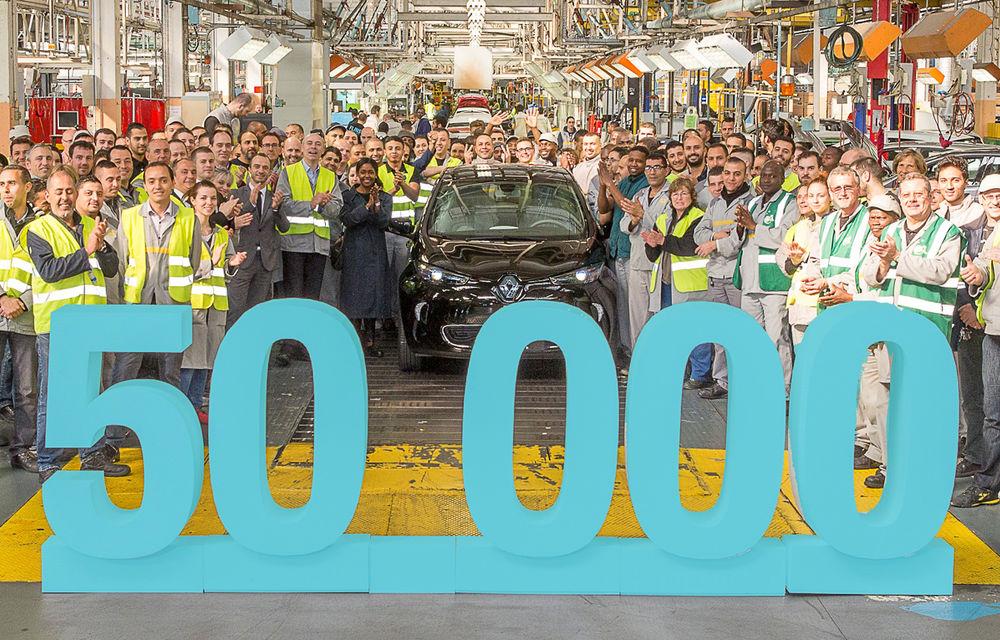 Aniversare electrică: Renault Zoe a ajuns la o producţie de 50.000 de unităţi. 98% dintre clienţi sunt mulţumiţi de maşină - Poza 1