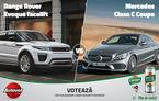 Duelul zilei în Autovot 2016: Range Rover Evoque vs. Mercedes Clasa C Coupe