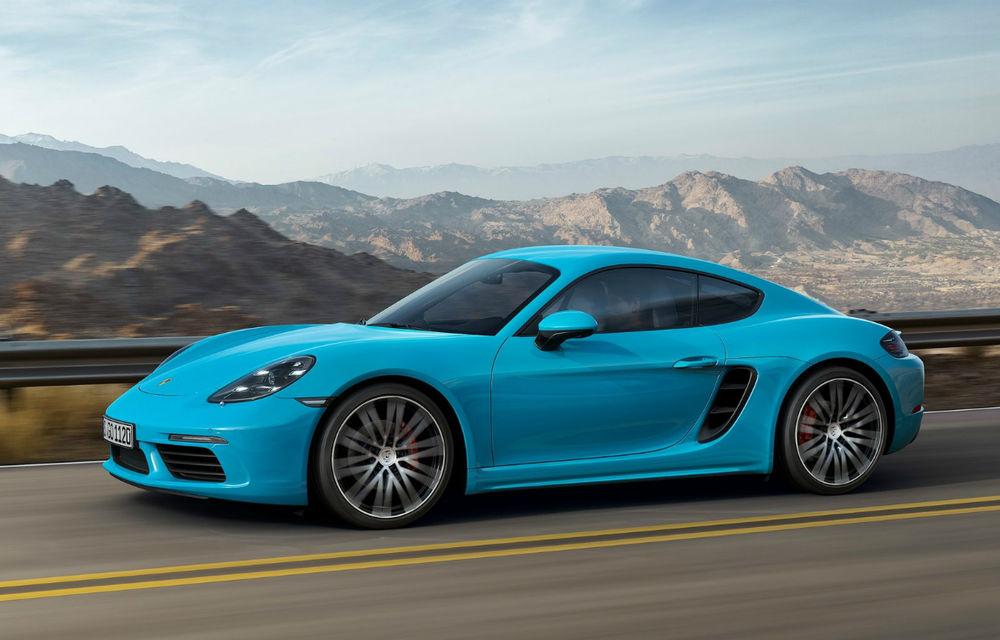 După roadster vine coupe: noul 718 Cayman devine cel mai accesibil model din gama Porsche - Poza 1