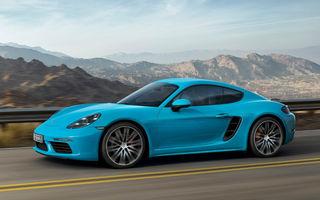 După roadster vine coupe: noul 718 Cayman devine cel mai accesibil model din gama Porsche