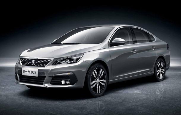 O mașină care ar putea prinde și în Europa: noul Peugeot 308 Sedan a fost dezvăluit oficial - Poza 1