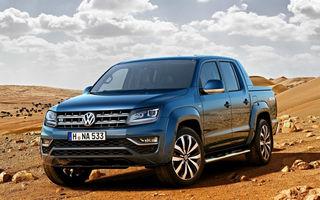 Un plus de putere: Volkswagen Amarok primeşte un nou motor diesel V6 de 3.0 litri de până la 224 CP