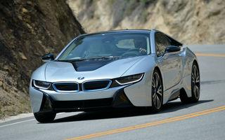 BMW i8 facelift va avea o putere totală de 425 CP şi mai multă autonomie în regim electric