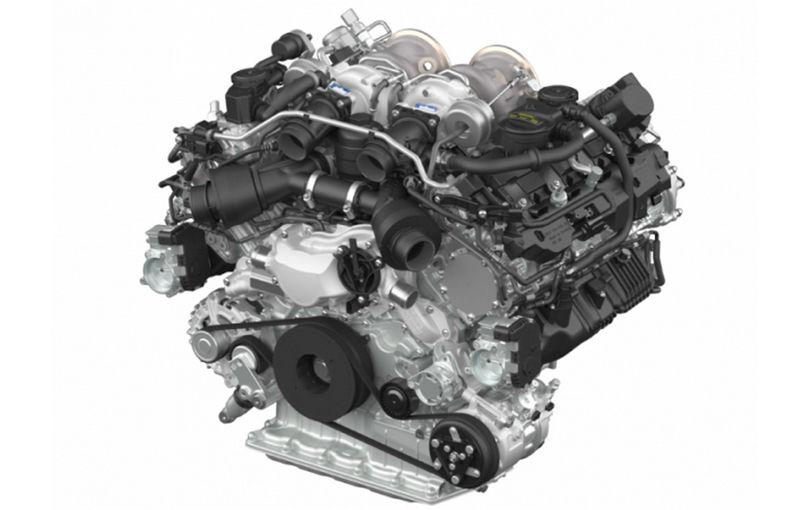 Porsche lansează un nou motor V8 biturbo: unitatea va debuta pe Panamera şi va avea 549 CP şi un cuplu de 770 Nm - Poza 1