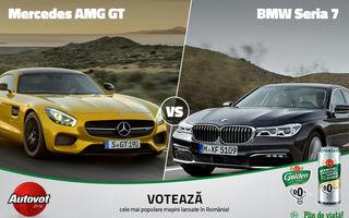 Finale de vis în Autovot 2016. BMW Seria 7 vs Mercedes AMG GT (Mașini Premium) și Opel Astra vs. Renault Talisman (Mașini Accesibile)