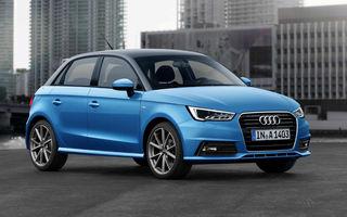 Modelul de oraş reinventat: noua generaţie Audi A1 va fi mai spaţioasă, dar ar putea