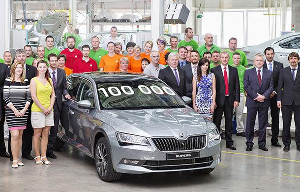 Cehii au motive de sărbătoare: a treia generaţie Skoda Superb a ajuns la o producţie de 100.000 de unităţi - Poza 1