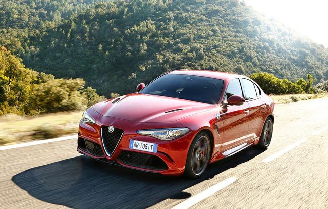 Test drive Alfa Romeo Giulia