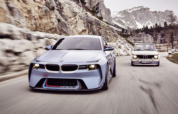 Arc peste timp în gama BMW: 2002 Hommage Concept leagă actualul M2 de vechiul 2002 Turbo - Poza 1