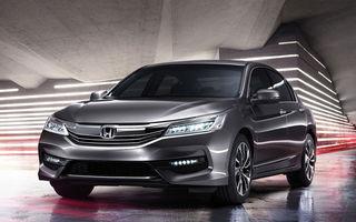 Noi oftăm după vechiul Honda Accord, iar japonezii primesc deja o nouă generație