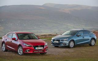 Cel mai economic Mazda3 folosește un motor diesel de 1.5 litri și 105 cai putere