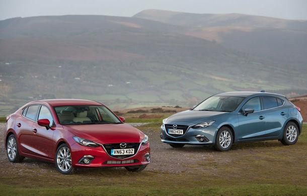 Cel mai economic Mazda3 folosește un motor diesel de 1.5 litri și 105 cai putere - Poza 1